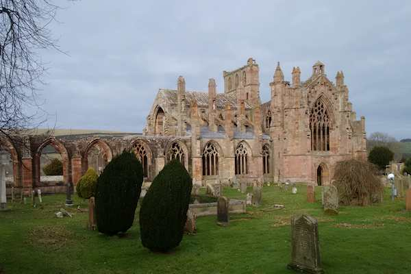 Melrose Abbey 20160226
