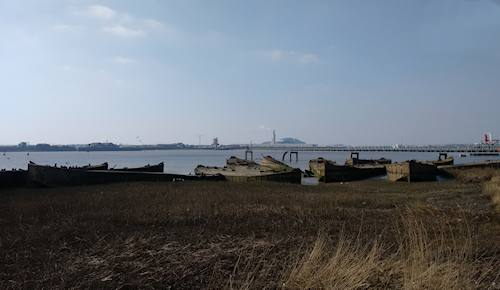 Rainham barges 20160313art